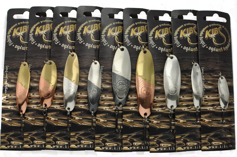 Kibs blizgės - Long cast collection